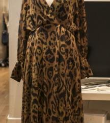 Leopard lezerna HM haljina, vel. XS