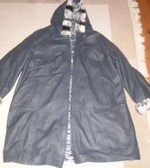 Kozna jakna-bunda vel XL,nova