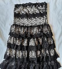 Kikiriki cipkasta haljina