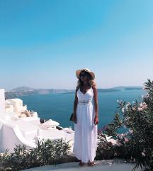 Bela Santorini haljina SNIŽENO