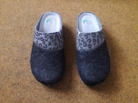 Anatomske zimske sobne papuče br 39 ug 24,5cm