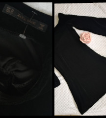 Danas samo 400 ZARA crna plisana haljina 💗