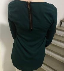 Zelena zara bluza