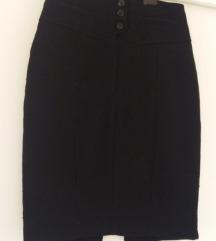 Zimska crna suknja