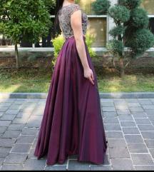 Elegantna haljina - rucni rad