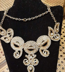 Raskošna pozlaćena ogrlica