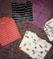 Majice Zara ,H&m ,bershka ,C&a nove