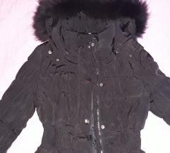 Zimska jakna sa prirodnim krznom