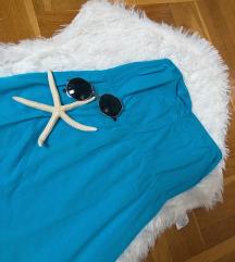 Plava letnja haljina