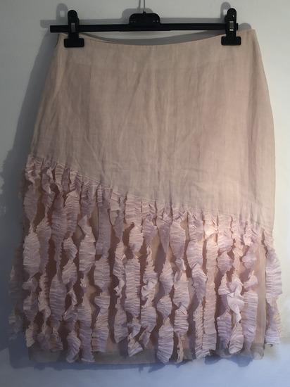 Ana Biose suknja od prirodnog materijala