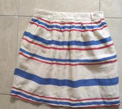 Suknja od platna