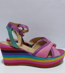 ITALY kožne sandale prirodna 100%koža 39
