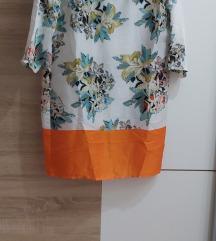 Zara kao nova svilenkasta haljina M SNIZENO