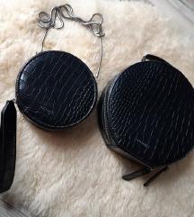 DON DONNA Kroko torbice SET NOVO
