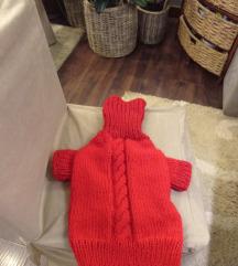 Ručno pleteni džemperi po merama Vašeg psa
