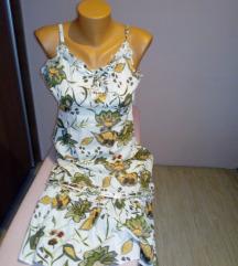 Pamučna haljina na bretele S