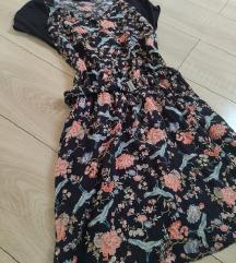 Letnja cvetna haljina s/m