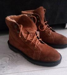 Esprit kožne čizme, novo