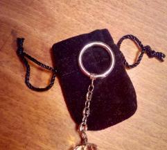 Swarowski privezak za kljuceve