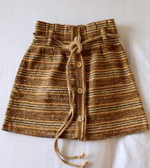 ZARA suknja + kais