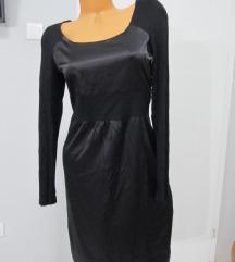 TOM TAILOR crna svečana haljina vel. S