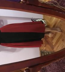 Duga bordo suknja