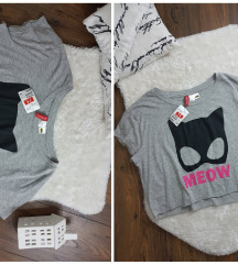 H&M * S/M * crop top majica NOVO