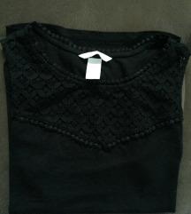 H&M majica sa čipkom