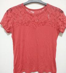 Crvena cipkasta majicica