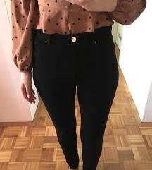 H&M pantalone, viskoza/pamuk, SNIZENO 1490