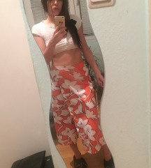 Zara nova sa etiketom duga suknja/pantalone