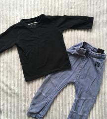 Next crna majica vel 86, kao nova