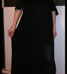 HM duga crna haljina