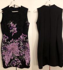 Uska haljina, jednom nošena, veličina M