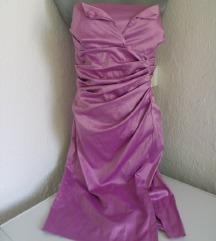 Lila italijanska svecana haljina M
