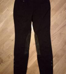 Zara crne pantalone S