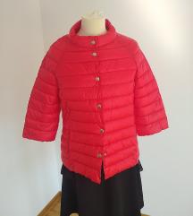 Nova crvena jakna sa 3/4 rukavima
