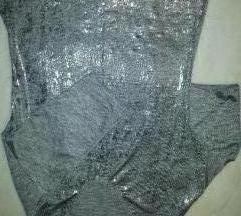 Majica srebrena