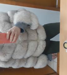 Prirodno krzno bunda /prsluk 2 u 1