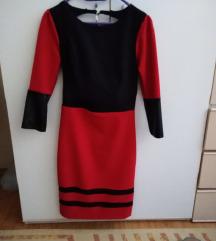 crvena fervente haljina