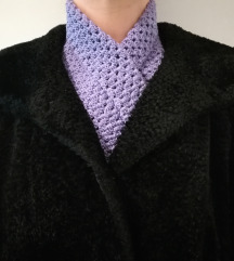 Granny violet šal unikat
