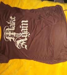 Prelepa majica sa printom M sada 500