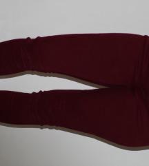 Zara bordo pantalone