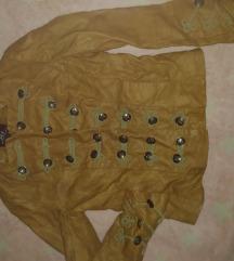Braon jakna skaj S