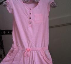 Roze kombinezon za devojcice