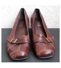 TREF COLLECTION  Braon kožne cipele HAND MADE