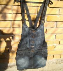 suknja teksas sa tregerima