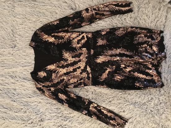 Diline šljokičava haljina jednom obučena!!!