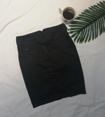 Calliope pencil crna suknja visok struk S/M