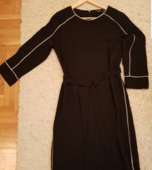 Crno bela kladicna haljinica